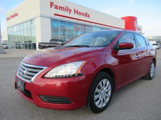 Used 2013 Nissan Sentra 1.8 SV, SAVE ON GAS! for sale in Brampton, ON