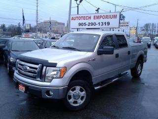 Used 2010 Ford F-150 XLT Crew Cab 4X4 Tonneau Cover for sale in Mississauga, ON