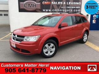 Used 2016 Dodge Journey SE Plus  7-PASS REAR-AC BT ALLOYS for sale in St. Catharines, ON
