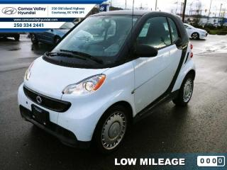 Used 2013 Smart fortwo Air Conditioning - Power Windows - Cruise Control for sale in Courtenay, BC