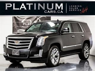Used 2016 Cadillac Escalade PREMIUM, 7 PASSENGER, NAVI, Rear Entertainment for sale in Toronto, ON