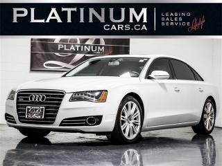 Used 2012 Audi A8 A8L Long WHEELBASE, Rear Seat PKG, B&O SOUND, Navi for sale in Toronto, ON