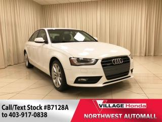 Used 2014 Audi A4 2.0 TFSI quattro Progressiv for sale in Calgary, AB