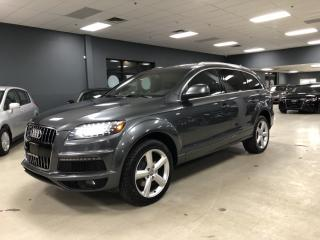 Used 2013 Audi Q7 3.0T QUATTRO SPORT*S-LINE*NAVIGATION*7-PASS*BACK-U for sale in North York, ON