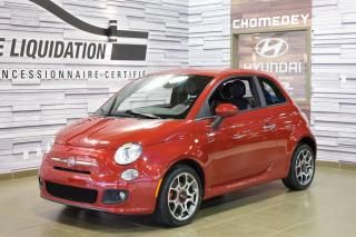 Used 2013 Fiat 500 Sport for sale in Laval, QC