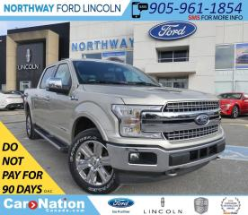 Used 2018 Ford F-150 Lariat | DIESEL | NAV | HTD LEATHER | 502A for sale in Brantford, ON