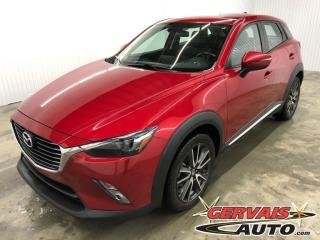 Used 2016 Mazda CX-3 Gt Awd Gps Cuir for sale in Trois-Rivières, QC