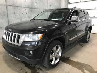 Used 2011 Jeep Grand Cherokee Limited * CUIR * GPS *TOIT* HEMI 5.7L * for sale in Lévis, QC