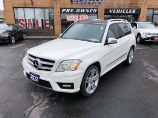 Used 2012 Mercedes-Benz GLK-Class GLK 350 4MATIC/PANO ROOF/B UP SENSORS for sale in North York, ON