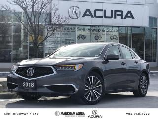 Used 2018 Acura TLX 3.5L SH-AWD w/Tech Pkg Navi, CarPlay, Android *AUTO*, BSM for sale in Markham, ON