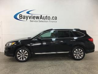 Used 2017 Subaru Outback 3.6R Touring - AWD! STARLINK! HTD LTHR! HARMON KARDON SOUND! for sale in Belleville, ON