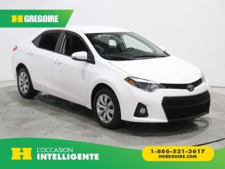 Used 2014 Toyota Corolla S A/c Gr élect for sale in St-Léonard, QC