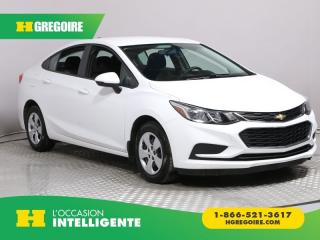 Used 2016 Chevrolet Cruze LS A/C GR ELECT CAM for sale in St-Léonard, QC
