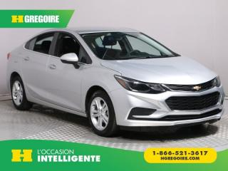 Used 2017 Chevrolet Cruze Lt A/c Mags for sale in St-Léonard, QC
