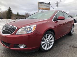 Used 2013 Buick Verano Leather Package Loaded with Sunroof and Leather! Heated Steering and Seats! for sale in Kemptville, ON
