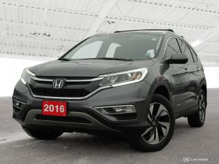 Used 2016 Honda CR-V Touring Sold Pending Customer Pick Up...USED SALES TEAM NOW IN THE MAIN SHOWROOM for sale in Waterloo, ON