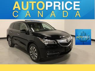 Used 2015 Acura MDX Navigation Package 7PASS|NAVIGATION|LEATHER for sale in Mississauga, ON