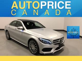 Used 2015 Mercedes-Benz C-Class HEADS UP DISPLAY|NAVI|LANE DEPART for sale in Mississauga, ON