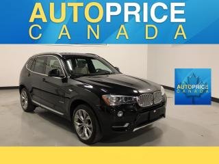 Used 2016 BMW X3 xDrive28i HEADS UP DISPLAY|NAVI|PANOROOF for sale in Mississauga, ON