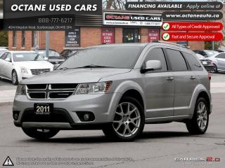 Used 2011 Dodge Journey R/T PACKAGE AWD 7 Passenger! for sale in Scarborough, ON