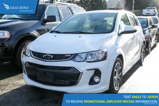 Used 2018 Chevrolet Sonic LT Auto for sale in Coquitlam, BC