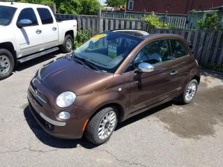 Used 2014 Fiat 500 C 2dr Conv Lounge for sale in Oshawa, ON