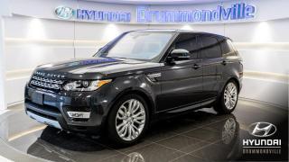 Used 2017 Land Rover Range Rover Sport HSE DIESEL AWD + GARANTIE + NAVI + WOW ! for sale in Drummondville, QC