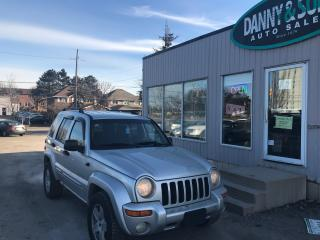 Used 2004 Jeep Liberty LIMITED for sale in Mississauga, ON
