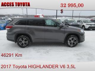 Used 2017 Toyota Highlander for sale in Rouyn-Noranda, QC