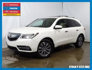 Used 2016 Acura MDX Tech for sale in Drummondville, QC