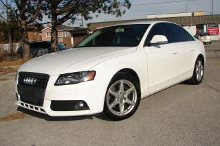 Used 2009 Audi A4 2.0T for sale in Mississauga, ON