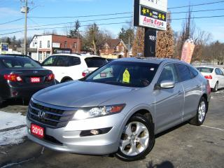 Used 2010 Honda Accord Crosstour EX-L w/Navi,Sunroof,Alloys,Fog lights,Tinted,AWD for sale in Kitchener, ON