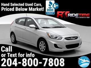 Used 2013 Hyundai Accent GL for sale in Winnipeg, MB