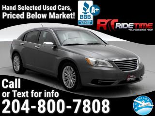Used 2013 Chrysler 200 Limited for sale in Winnipeg, MB