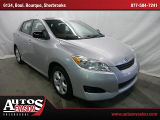 Used 2010 Toyota Matrix for sale in Sherbrooke, QC