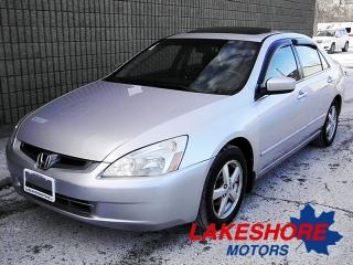 Used 2004 Honda Accord EX-L || CERTIFIED || AUTO for sale in Waterloo, ON