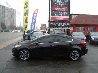 Used 2014 Kia Forte EX/ REVERSE CAM / ALLOYS/ HEATED SEATS / BLUETOOTH for sale in Scarborough, ON