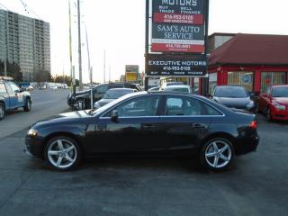 Used 2012 Audi A4 2.0T PREMIUM/ AWD/ LEATHER / ROOF / CERTIFIED / for sale in Scarborough, ON