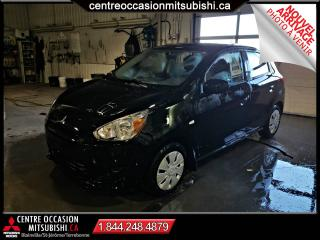 Used 2015 Mitsubishi Mirage ES AUTOMATIQUE SUR PNEUS D'HIVER for sale in Blainville, QC
