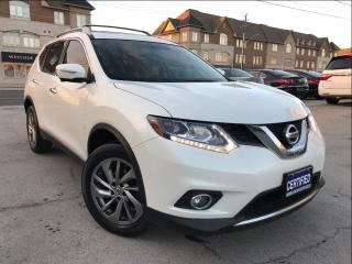 Used 2015 Nissan Rogue SL PREM PKG AWD Navi Leather Panoramic roof for sale in Burlington, ON