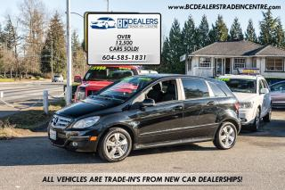 Used 2011 Mercedes-Benz B-Class B 200, Local, Low 104k, Auto, Alloys, Loaded! for sale in Surrey, BC