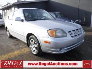 Used 2003 Hyundai Accent GS 2D Hatchback for sale in Calgary, AB