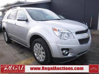 Used 2011 Chevrolet Equinox LTZ 4D Utility AWD for sale in Calgary, AB