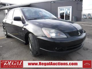 Used 2006 Mitsubishi Lancer Ralliart 4D Sedan for sale in Calgary, AB