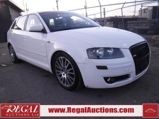 Used 2006 Audi A3 4D Hatchback for sale in Calgary, AB
