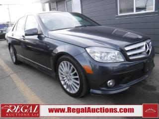 Used 2010 Mercedes-Benz C250 C-CLASS 4D Sedan 4MATIC for sale in Calgary, AB