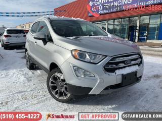 Used 2018 Ford EcoSport Titanium | AWD | NAV | LEATHER | ROOF | CAM for sale in London, ON