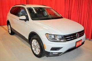 Used 2018 Volkswagen Tiguan TRENDLINE | AWD | HEATED SEATS for sale in Stratford, ON