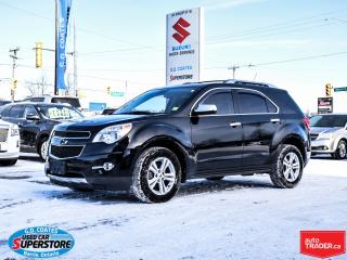 Used 2012 Chevrolet Equinox LTZ AWD ~3.0L V6 ~Heated Leather ~Power Moonroof for sale in Barrie, ON