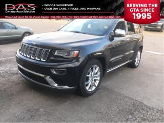 Used 2014 Jeep Grand Cherokee SUMMIT ECODIESEL NAVIGATION/PANORAMIC SUNROOF for sale in North York, ON